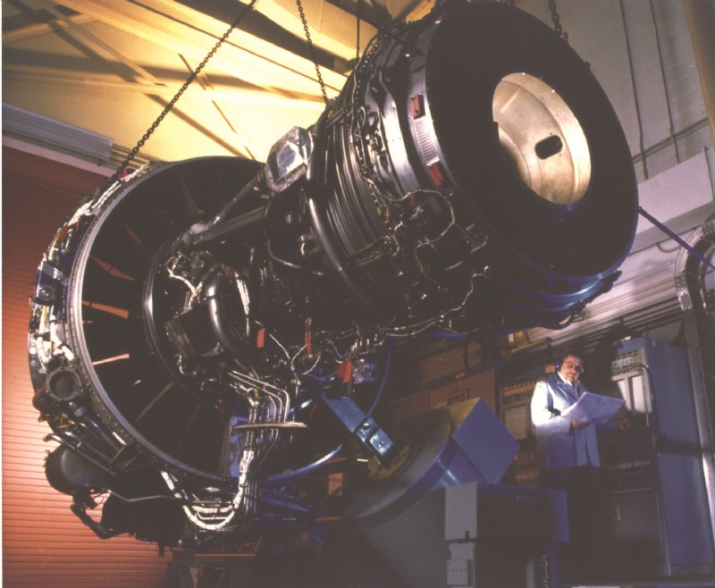 Jet engine vibration testing requires the high performance level of Unholtz-Dickie shakers